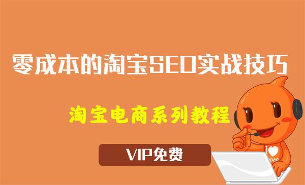 《零成本的淘宝SEO实战技巧》视频教程(16节)